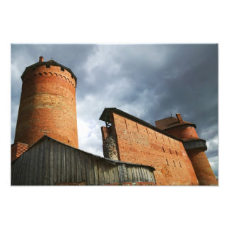 Turaida Castle, Sigulda, Latvia Photographic Print