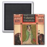 Turandot, a Puccini Opera Fridge Magnet