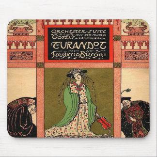 Turandot, a Puccini Opera Mousepad