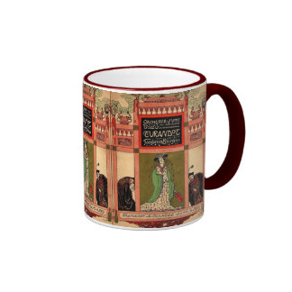 Turandot, a Puccini Opera Ringer Coffee Mug