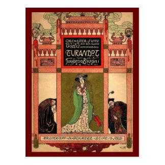 Turandot, a Puccini Opera Postcard