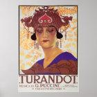 Turandot Opera Poster