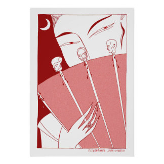 Turandot red poster