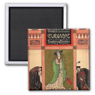 Turandot, una ópera de Puccini Imán Cuadrado