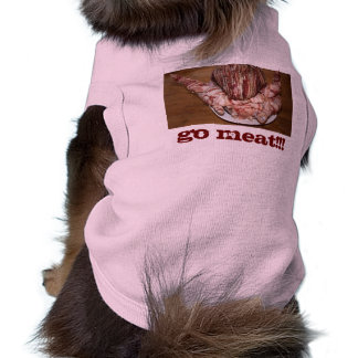 TurBaDucken, GO MEAT!!! small Dog Tank T-Shirt