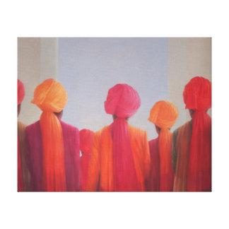 Turban Group 2012 Canvas Print