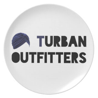 Turban Outfitters Plate