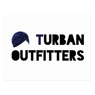 Turban Outfitters Postcard