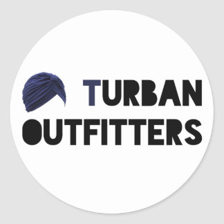 Turban Outfitters Sticker