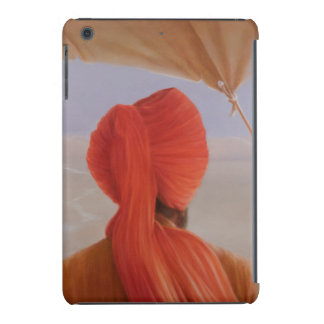Turbaned backview with tenting iPad mini cover