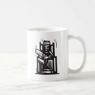 Turbante y voluta taza de café