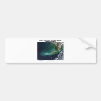 Turbid Waters Off Southern Florida & Florida Keys Bumper Stickers
