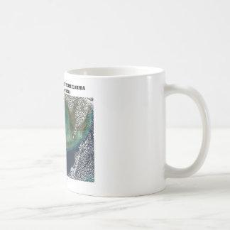 Turbid Waters Off Southern Florida & Florida Keys Coffee Mug