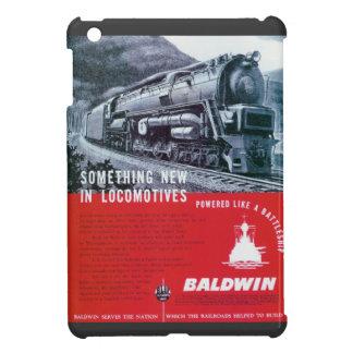 Turbina de vapor de la locomotora S-2 PRR de Baldw iPad Mini Funda