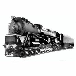 Turbina de vapor de la locomotora S-2 PRR de Pin Fotoescultura
