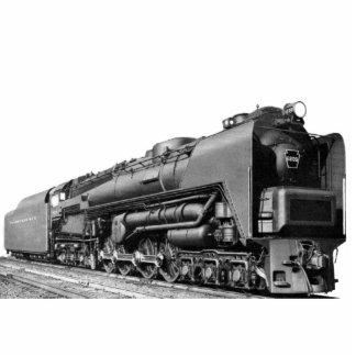 Turbina de vapor de la locomotora S-2 PRR de Fotoescultura Vertical