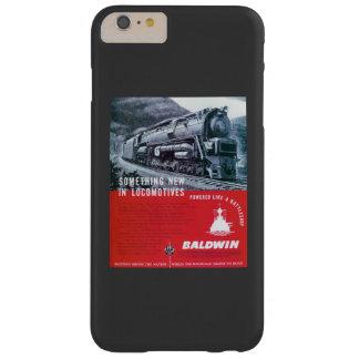Turbina de vapor de la locomotora S-2 PRR de Funda Para iPhone 6 Plus Barely There