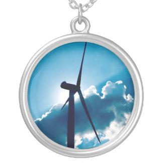 Turbina de viento collares personalizados
