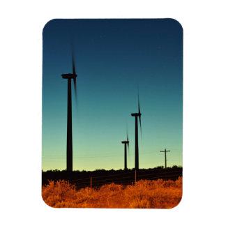 Turbina de viento en WA del este Rectangle Magnet