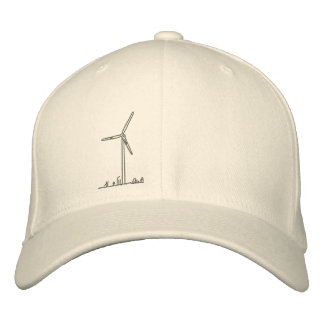 Turbina de viento Hat_8036 Gorros Bordados
