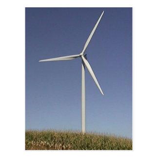 Turbina de viento postales