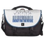 Turbinas de la energía eólica bolsas para portatil