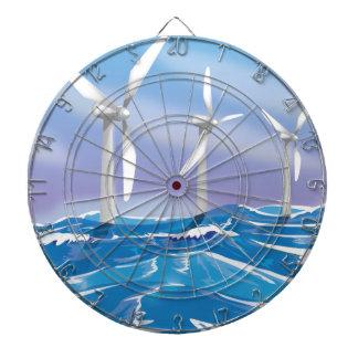 Turbinas de la energía eólica del mar