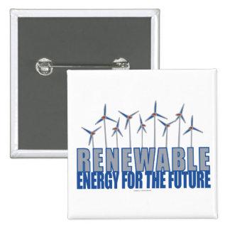Turbinas de la energía eólica pin cuadrado