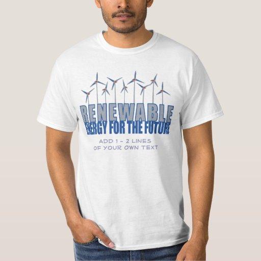 Turbinas de la energía eólica polera