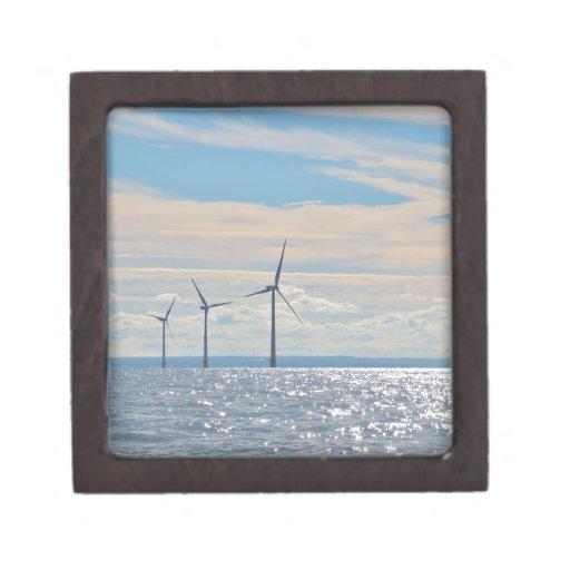 Turbinas de viento caja de joyas de calidad