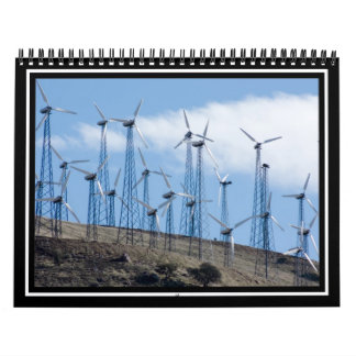 Turbinas de viento calendarios