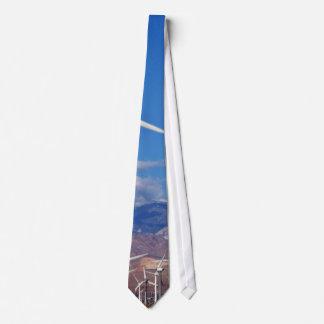 Turbinas de viento corbatas