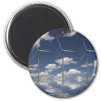 Turbinas de viento de Syncronised Imán Redondo 5 Cm
