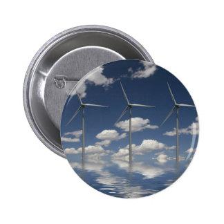 Turbinas de viento de Syncronised Pin Redondo De 2 Pulgadas