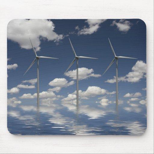 Turbinas de viento de Syncronised Tapete De Ratones
