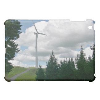 Turbinas de viento en campo