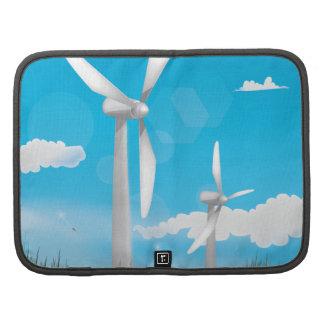 Turbinas de viento organizadores
