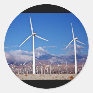 Turbinas de viento pegatinas