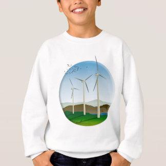 Turbinas de viento sudadera