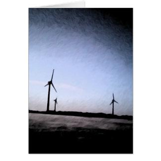 Turbinas Tarjeta De Felicitación