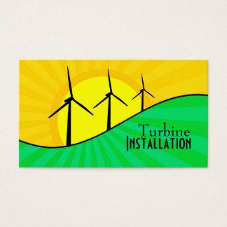 Turbine business cards