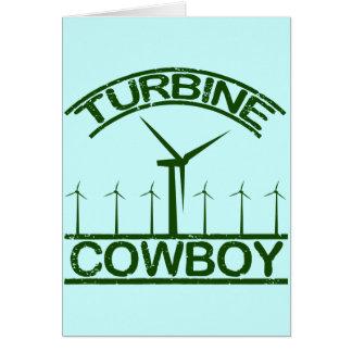 Turbine Cowboy Card