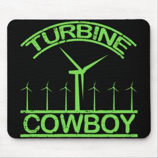 Turbine Cowboy Mouse Pad