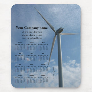 Turbine Power promotional calendar ~ mousepad