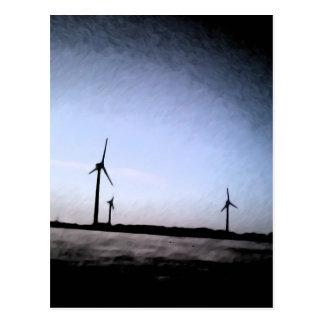 Turbines Postcard