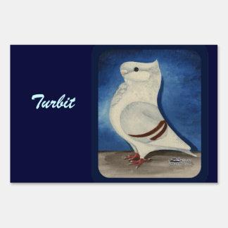 Turbit Pigeon 1979 Sign