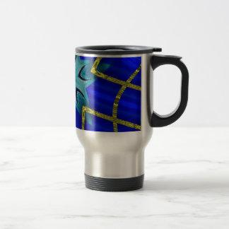 Turbo azul taza térmica
