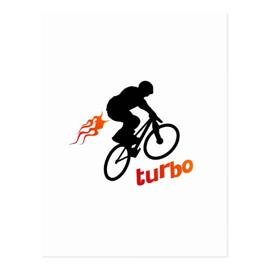 Turbo BMX Postcard