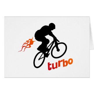 Turbo BMX Tarjeta De Felicitación