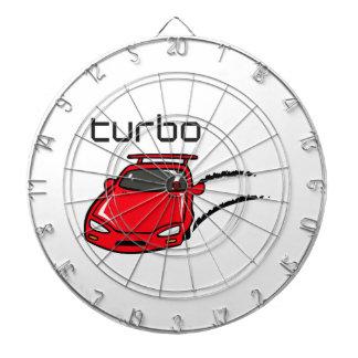 TURBO CAR DART BOARD